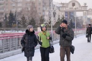 Экскурсия по зимнему Красноярску